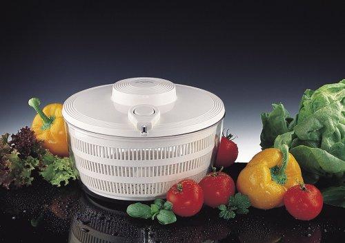 Küchenprofi Profi-Salatschleuder 24cm Deckel mit Seilzug