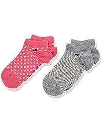 Tommy Hilfiger Mädchen Socken Th Girls Daydreamer Sneaker 2p, 2er Pack