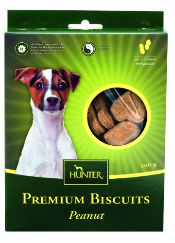 Artikelbild: Hunter Premium Biscuit Hundekeks Peanut, 200 g, 4er Pack (4 x 200 g)