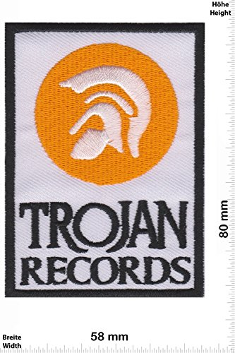 patches-trojan-records-yellow-independent-label-musicpatches-rock-vest-iron-on-patch-applique-embroi