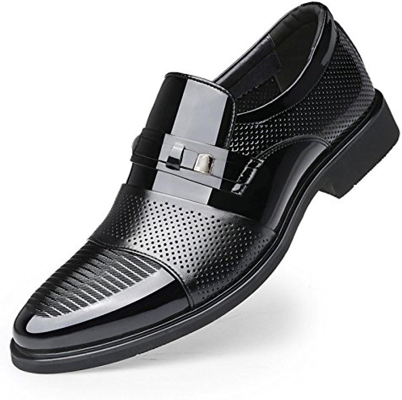 Zapatos De Cuero para Hombres Zapatos Ocasionales para Negocios A Cielo Abierto