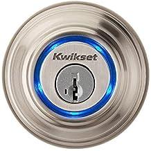 Kwikset Kevo (1st Gen) Touch-to-Open Bluetooth Smart Lock in Satin Nickel by Kwikset