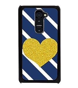 Fuson Designer Back Case Cover for LG G2 :: LG G2 Dual D800 D802 D801 D802TA D803 VS980 LS980 (Love Love Hearts Infactuation Togather In Relationship)