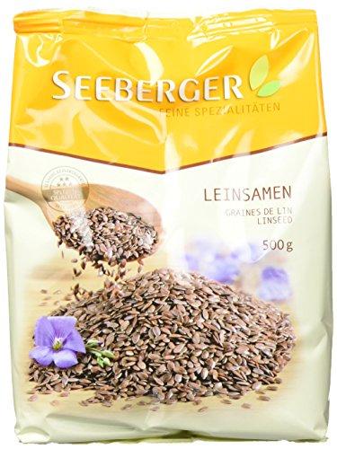 Seeberger Leinsamen, 9er Pack (9x 500 g Packung)
