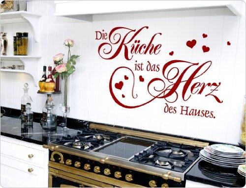 """I-love-Wandtattoo 11570 Wandtattoo \""""Die Küche ist das Herz des Hauses.\"""""""