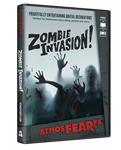Spooky Zombie Invasion Visual Halloween Effekt DVD als Halloween Dekoration