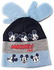 Cappello e guanti con Topolino, per bambini, set invernale Disney Baby Topolino, guanti e cappello