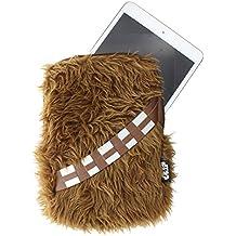 """Lazerbuilt UTSW-8-WOOKIE - Funda universal para Tablet de 7""""/8"""" diseño Star Wars, color marrón"""