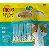 Fins Fur And Feathers Me-O Creamy Treat Bonito Flavor (Pack Of 20 Sticks)