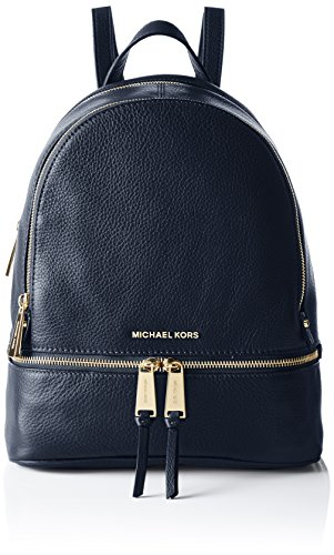 Michael Kors Rhea Zip, Bolso Mochila para Mujer, Azul (Admiral), 25.4x29.9x11.4 cm (W x H x L)