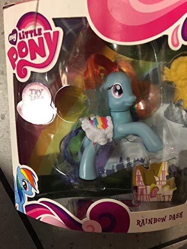 Hasbro 26072 My Little Pony Funkelpony Rainbow Dash mit blinkenden Flügeln