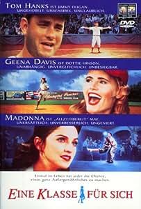 EINE KLASSE FÜR SICH - MADONNA [DVD] [1992]