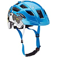 Uvex Kinder Finale Junior LED Mountainbikehelm