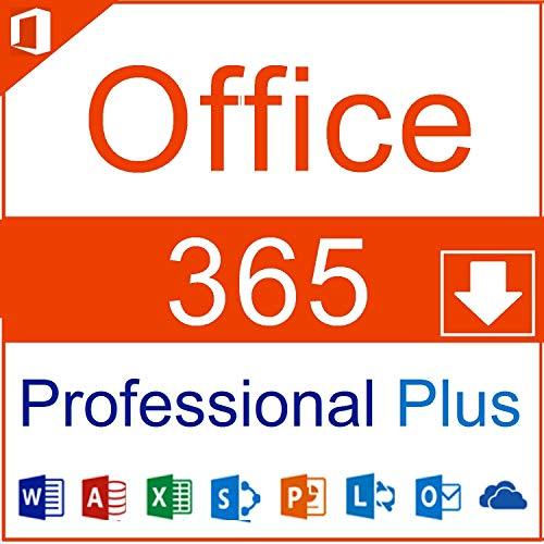 Microsoft Office 365 Professional Plus Multilingual | inkl. Office Professional Plus 2016 & 2019 | 15 Geräte | PC, Mac, Android, iOS | Lifetime Account | Word, Excel, PowerPoint, Outlook uvm.