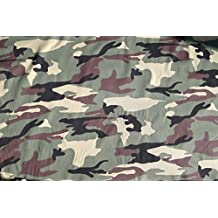 Ejército de camuflaje algodón Tejido Material.