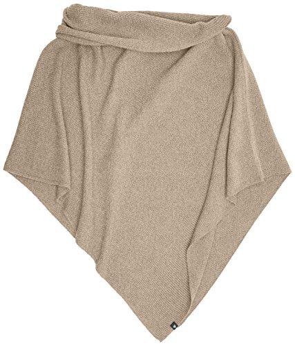 Marc O'Polo Damen 707823593019 Schal, Beige (Caramel Melange 725), One Size