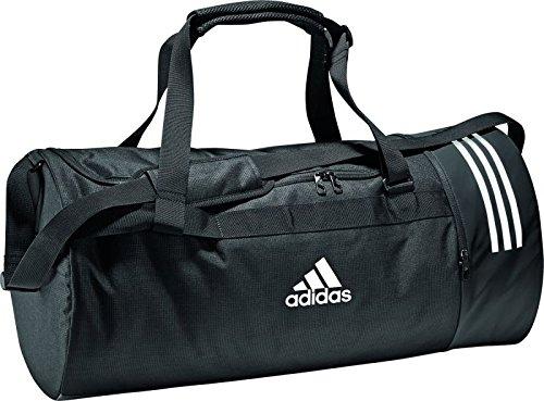 Adidas Cvrt 3S, Mochila Unisex Adultos, Negro (Negro/Gris/Blanco), XS