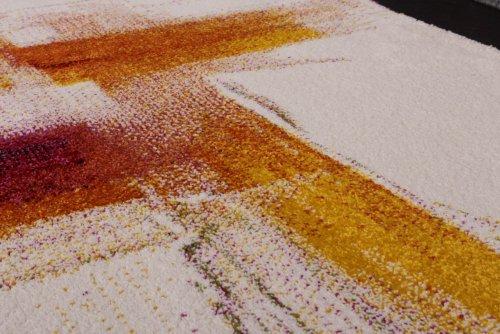 Teppich design bunt  Teppich Modern Splash Designer Teppich Bunt Brush Neu OVP, Grösse ...
