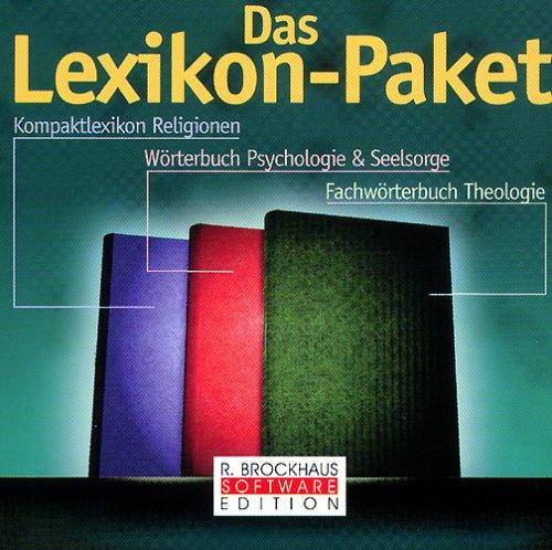 Das Lexikon-Paket, 1 CD-ROM Kompaktlexikon Religionen; Wörterbuch Psychologie & Seelsorge; Fachwörterbuch Theologie. Für Windows 3.1/95/98/NT 4.0