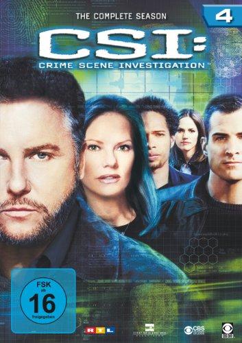 CSI: Crime Scene Investigation - Season 4 [6 DVDs]
