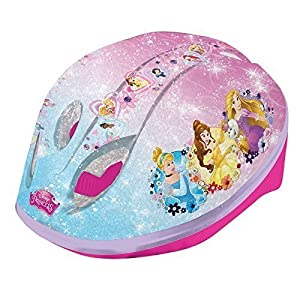 Disney Princess Girls Safety Helmet Kids Quick Release Buckle Head Size 48-52cm