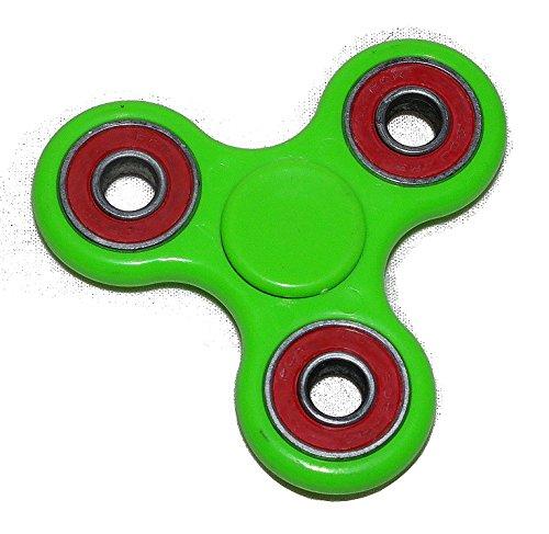 Preisvergleich Produktbild Fidget Finger Hand Pocket Spinner Grün EDC Anti Stress Konzentration ADHS Spielzeug für Kinder & Erwachsene