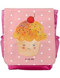 Preisvergleich für Mr. & Mrs. Panda Kinderrucksack Cupcake - 100% handmade in Norddeutschland - pink, Geschenk Koch, Wunder, Kids...