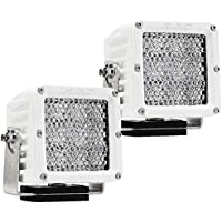 RIGID INDUSTRIES d-xl Pro–festgehaltenen LED–Pair–White