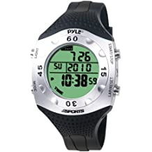 Pyle PSWDV60BK - Reloj digital deportivo, color negro