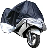 Kingzer Waterproof Storage Cover For Motorcycle Motorbike Scooter Moped XXL Size
