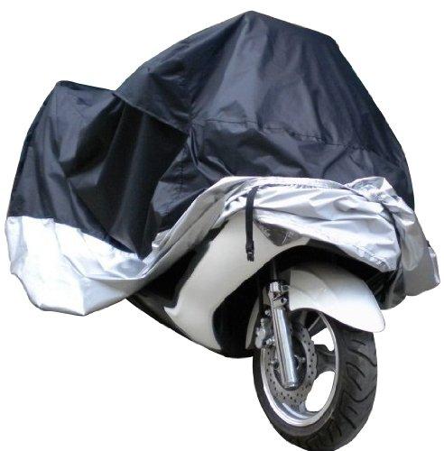 DELOLVE Tutte Le Taglie L/XL/XXL/XXXL Coprimoto Antipolvere Impermeabile Protezione UV Esterna Motore Moto Coperture Antipioggia per Tutti Gli Scooter,XXL