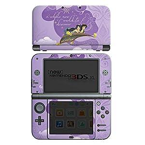 Skin kompatibel mit Nintendo New 3DS XL Folie Sticker Offizielles Lizenzprodukt Aladdin Disney
