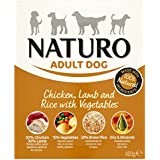 Naturo Wet Dog Food Adult Chicken/ Lamb and Rice 400 g(pack of 10)