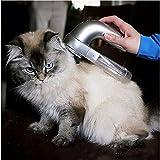 SRY- Haustierzubehör Tragbare Elektrische Pet Hair Sauggerät Clipper Diagnose-tool Grooming Pet Pinsel Kamm Entfernung, größe: 19,0x11,0x6,0 cm Nett und praktisch