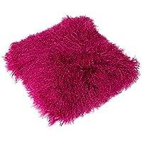 Funda para cojín Tíbet piel de cordero 40x40cm ¡Una amplia gama de colores! JAY16