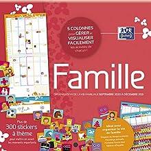 Oxford 400080216 Seven 2017/18 Family Calendar 30 x 30 cm Random Colour
