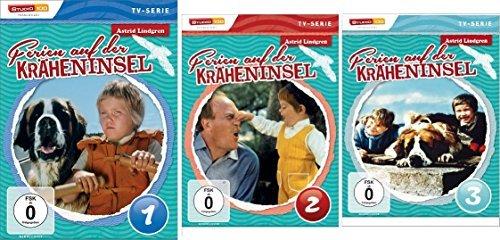 Astrid Lindgren: Ferien auf der Kräheninsel 1-3 (3 DVDs)