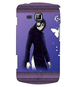 Fuson 3D Printed Girly Designer back case cover for Samsung Galaxy S Duos 2 S7582 - D4143