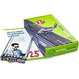 WorkDone 2,5-Zoll Hard Drive Caddy Tray - Festplattenrahmen für Dell PowerEdge Server T440 T640 R330 R430 T430 R630 T630 R730 R730XD R830 R930 und mehr - Hot Swap Bracket - Gehäuseträger