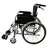 pliable léger en aluminium pour fauteuil roulant automotrice, lampe Portable Chaise. Moins de 12kg, Entièrement en aluminium, poids 120kg de l'utilisateur. Note: au Royaume-Uni uniquement. sans les NI de livraison et Highlands d'Écosse