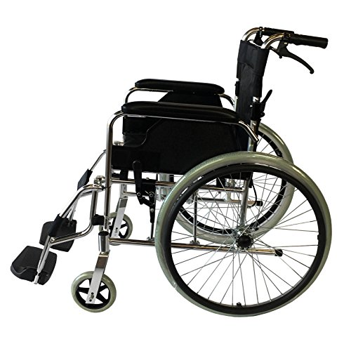 - Aluminium selbstfahrend Rollstuhl, tragbar leichter Stuhl. Unter 12kg, voll Aluminium, 120kg Benutzergewicht. Hinweis: Lieferung nur auf britischem Festland. Ohne Ni und schottischen Highlands