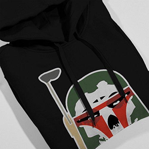 Star Wars Misfits Boba Fett Women's Hooded Sweatshirt Black