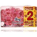 Foxy Bouquet Papel Higiénico - 6 Rollos, surtido: colores aleatorios