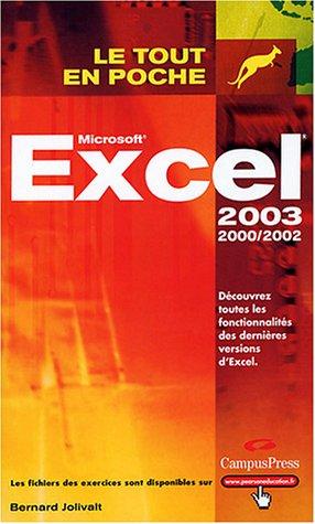 Excel 2002 et 2003
