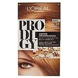 L'Oréal Paris Prodigy Colorazione Permanente, 7.31 Nocciola Biondo Dorato