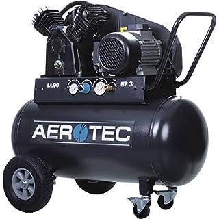 Kolbenkompressor Kompressor Druckluft Aerotec 500-90 TECH