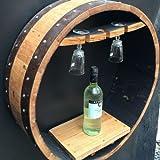 """Barril de whisky de roble macizo hecho a mano Vino de """"Vino Estante"""