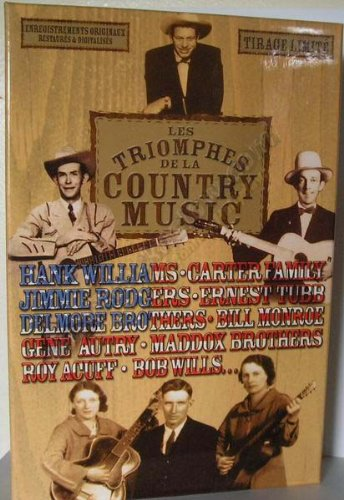 Les triomphes de la country music 20 CD (Hank Williams-boxset)