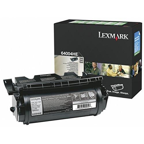 Lexmark 64004HE Toner schwarz für Etiketten, 21.000 Seiten ISO/IEC 19752 -