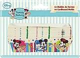 Stor 77756 Set 10 moldes de cartón mini family bakery en blister para repostería, Compuesto, Multicolor, 25x20x7 cm, 10 Unidades